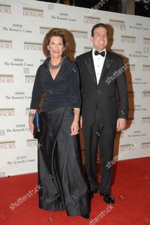 The Honorable Nancy Brinker, Chief of Us Protocol and Her Husband Eric Brinker