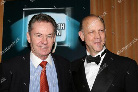 Stock Image of James Sutorius and Jim Ortlieb
