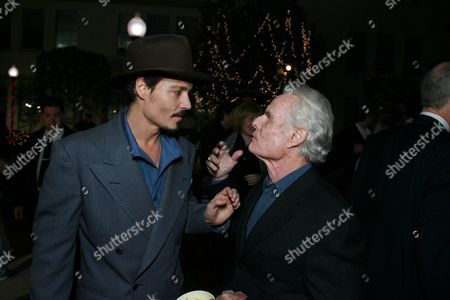 Johnny Depp and Producer Richard Zanuck