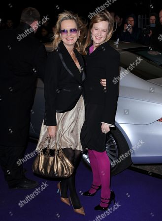 Twiggy and daughter Carly Lawson