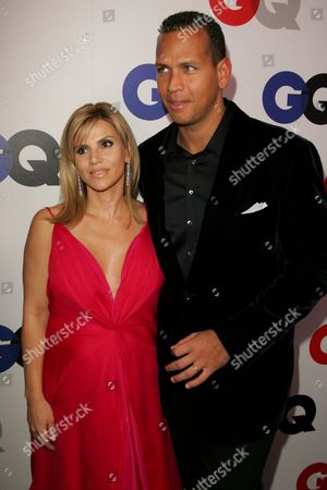 Stock Image of Alex Rodriguez and wife Cynthia Scurtis