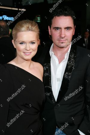Cecelia Ahern and David Keoghan