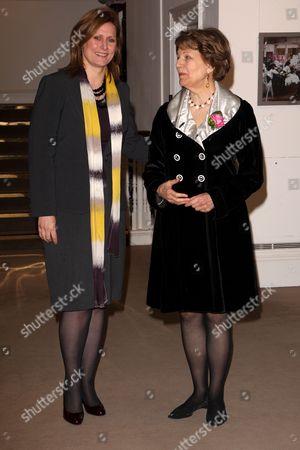 Sarah Brown and Baroness Nicholson