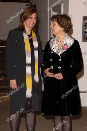Sarah Brown and Baroness Emma Nicholson