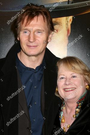 Liam Neeson and Shirley Knight