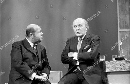 Stubby Kaye (left) and David Nixon in 'David Nixon Show' - 1969