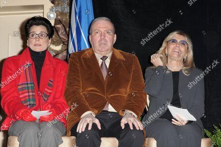 Tina Sinatra, Frank Sinatra Jnr and Nancy Sinatra