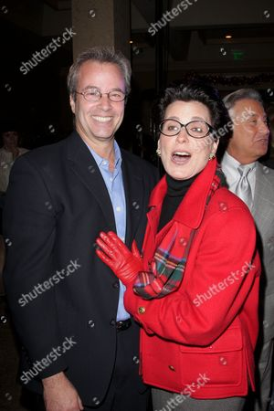 Stock Image of Philip Casnoff and Tina Sinatra