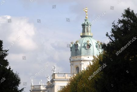 Schloss Charlottenburg Palace, built by Sophie Charlotte as a summer palace, in the 18th century. Berlin, Germany