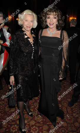 Honor Blackman and Joan Collins