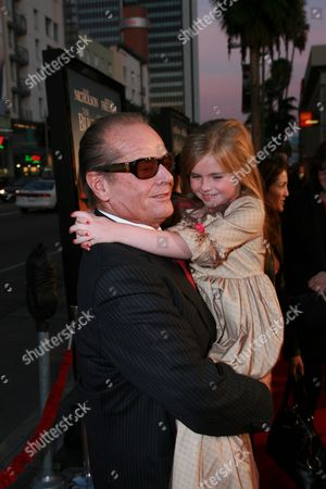 Jack Nicholson and Taylor Ann Thompson