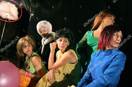 Deidra Morris as Valerie, Clara Perez as Gabrielle, Sasha Behar as Petra, Naomi Taylor as Karin and Anna Egseth as Marlene