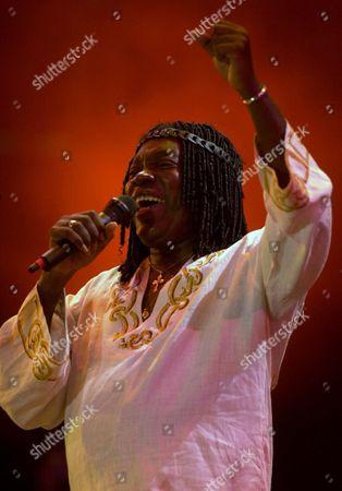 NASCIMENTO Brazilian musician Milton Nascimento performs at the Rock in Rio music festival in Rio de Janeiro, Brazil, . Nascimento is one of dozens of artist to perform at the seven-day Rock in Rio music festival, which begins tomorrow