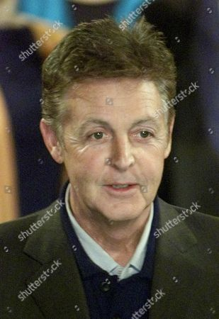 MCCARTNEY Sir Paul McCartney Is Seen At The Launch Of A Garland For Linda