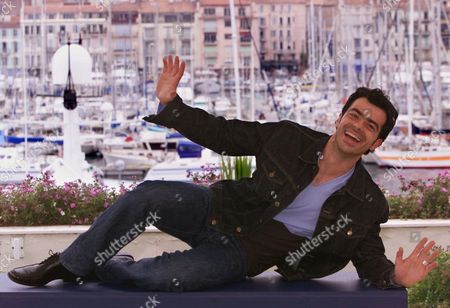 """SELVAS Spanish actor David Selvas strikes a pose during a photo call at the Festival Palace in Cannes, France, . Selvas stars in """"Pau i el seu germa (Pau and his brother)"""" directed by Marc Recha which will be screened Thursday in competition for the 54th Cannes Film Festival"""