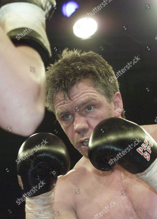 ROCCHIGIANI German boxer Graciano Rocchigiani in action vs. Canada's Willard Lewis during their cruiser weight fight in Berlin on Saturday night, . Rocchigiani won the fight