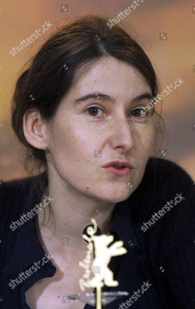 """MASSON French director Laetitia Masson talks to journalists during a press conference in Berlin, after the film """"Love Me"""", was shown to the press at the Berlin's 50th international film festival """"Berlinale"""". The film takes part in the competition of the Golden and Silver Bear awards"""