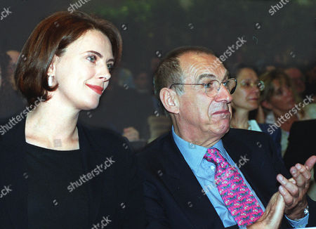 TATO' RAULE Italian ENEL Electric utility company managing director Franco Tato', right, and ARTE' TV host Sonia Raule are shown in this Saturday May 8 photo. Tato' and ENEL president Chicco Testa were reconfirmed at their posts during a shareholders meeting in Rome