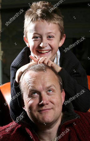 Mike Tomlinson Husband of Fundraiser Jane Tomlinson Who Died This Year of Cancer with His Son Steven