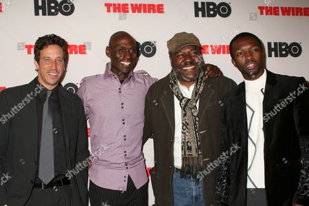 Editorial image of 'The Wire' TV Series Final Season Premiere, New York, America - 04 Jan 2008