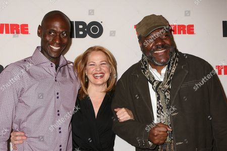 Stock Photo of Lance Reddick, Deirdre Lovejoy, Frankie R Faison