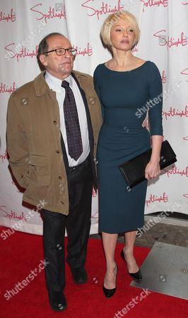 Sidney Lumet and Ellen Barkin