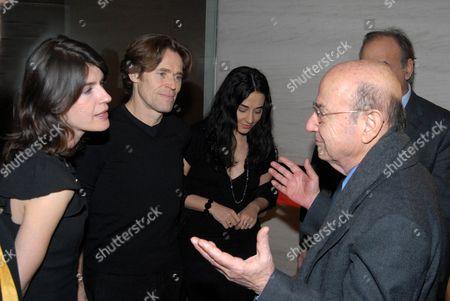 Irene jacob, Willem Dafoe, Giada Colagrande and Theodoros Angelopoulos
