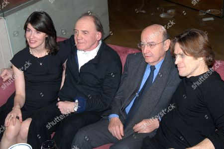Irene Jacob, Bruno Ganz, Theodoros Angelopoulos and Willem Dafoe