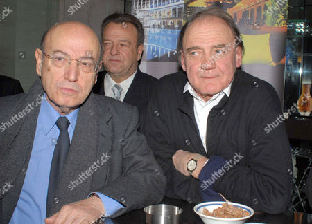 Theodoros Angelopoulos and Bruno Ganz