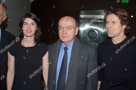 Irene Jacob, Theodoros Angelopoulos and Willem Dafoe