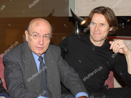 Theodoros Angelopoulos and Willem Dafoe