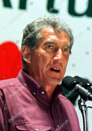 MONTIEL Arturo Montiel, Institutional Revolutionary Party (PRI) gubernatorial candidate for the state of Mexico, is shown in this June 20,1999, photo. Elections for the governorship of the state of Mexico, the most populous state, will be held