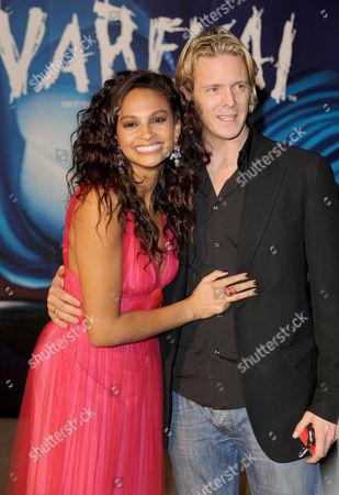 Alesha Dixon and Matthew Cutler
