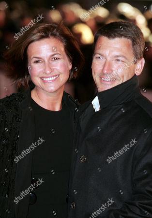Emma Forbes and husband Graham
