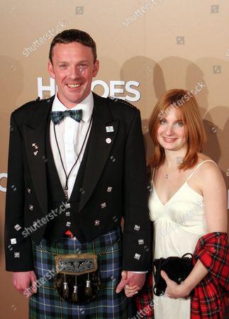 John Smeaton and friend Christy Mecphedren