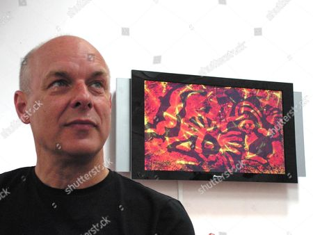 'The South Bank Show' TV Series - 2006  Steve Reich, the Composer. Picture Shows: Brian Eno