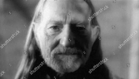 Stock Photo of 'The South Bank Show' TV Series - 2002 Bernie Taupin  Willy Nelson
