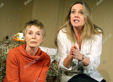 Susannah York (Mama Palmer) and Sarah Berger (Frances)