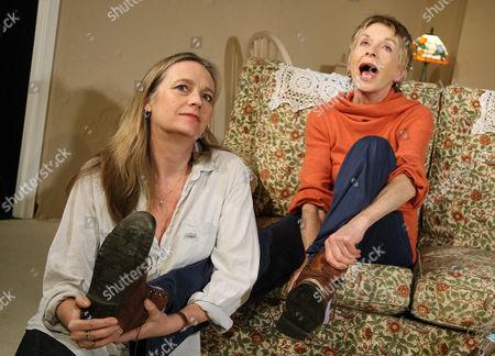 Sarah Berger (Frances) and Susannah York (Mama Palmer)