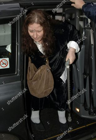 Psychic Simone Simmons appearing at the High Court as a witness into the Inquest of the deaths of Diana and Dodi.