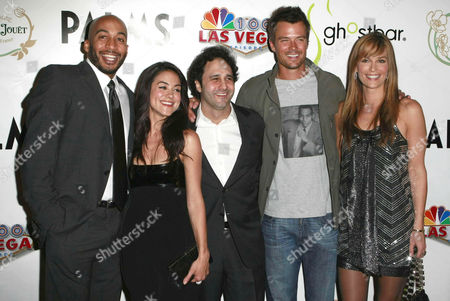 James Lesure, Camille Guaty, George Maloof, Josh Duhamel and Molly Sims