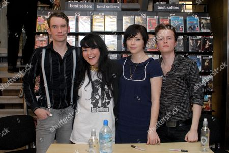 Editorial picture of Sons and Daughters play live and meet fans at Fopp in Covent Garden, London, Britain - 15 Jan 2008