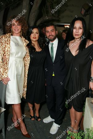 Gianina Facio, Salma Hayek, Edmundo Castillo and Eva Chow
