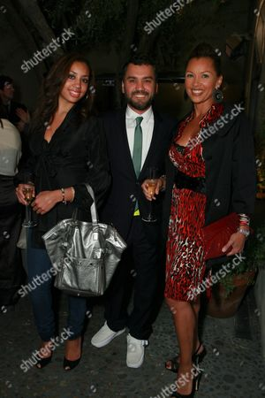 Edmundo Castillo, Vanessa Williams and daughter Melanie Hervey