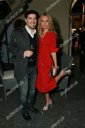 Sami Hayek and Rachel Zoe