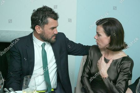 Edmundo Castillo and Debi Mazar