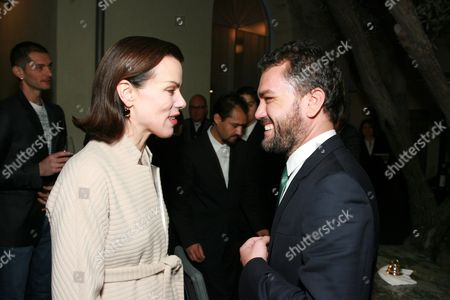 Debi Mazar and Edmundo Castillo