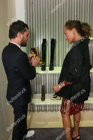 Edmundo Castillo and Vanessa Williams
