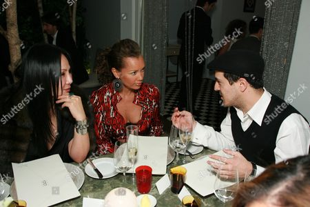 Eva Chow, Vanessa Williams and Sami Hayek