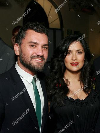 Stock Photo of Edmundo Castillo, Salma Haye